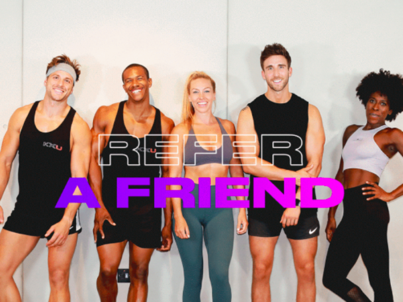 Gift a friend a free class & gift yourself £15